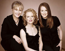 Meryl Streep, Nicole Kidman & Julianne Moore photo - E980 - Stars of The Hours