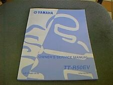 YAMAHA TT-R50  Owner's Service Manual NEW 2006 Full Detail Service 50cc Trail