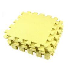9x EVA di puzzle stuoia di protezione mat fitness Tappetino 28x 28 x 0,8 cm  1H7