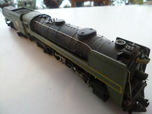 Mehano 4-6-4 Canadian National K5a class with Vanderbilt tender.