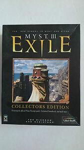 Myst 3 Exile  Collectors Edition (PC Windows 2001) - Big Box Collectors Edition