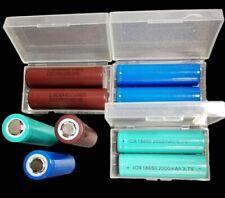 Bateria 18650 ultrafire lg 3000 mah IC 2000 mah m.l 1200 mah aparatos eléctricos incl. box
