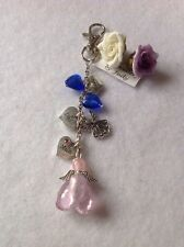 Mum Dad And Brother  Guardian Angel in memory/memorial key ring, Angels Watching