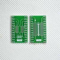 20pcs SO/SOP/SOIC/SSOP/TSSOP/MSOP 24 to DIP Adapter PCB Board Converter Arduino