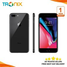 Apple iPhone 8 Plus 256GB Factory Unlocked Space Grey UK MODEL Next Day Delivery