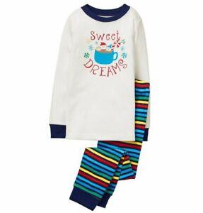Gymboree Boy Pajama Set Size 5 Family Christmas Gymmies