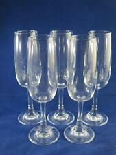 Set di 5 Soviet Vintage Vetro Champagne flauti