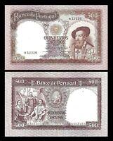 2x  500 Escudos - Ausgabe 1958 Francisco de Almeida, Chapa 9 - Reproduktion - 08