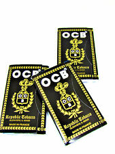 OCB Republic Rolling Papers - 3 Packs 150 Leaves Each - RYO Tobacco - NEW DIY