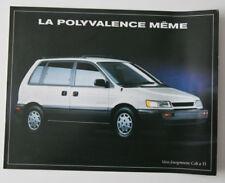 DODGE COLT FOURGONNETTE 1993 dealer brochure - French - Canada - ST501000218