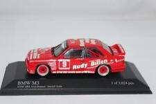 Minichamps 1/43 BMW E30 M3 Rudy Billen #9 H. Grohs DTM Avus 1988 LE 3,024 pcs