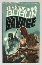 Doc Savage (1969) #35 PB 1st Print The Squeaking Goblin Kenneth Robeson Bama FN