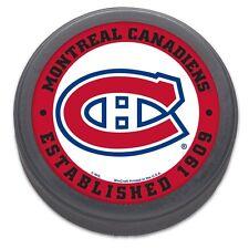 Montreal Canadiens, Established 1909, NHL Logo Collectors Puck