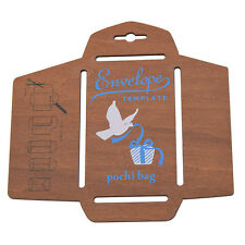 Wooden Envelope Template Wood Stencil DIY Airmail Craft Cardmaking Scrapbooking