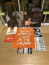 DAVID BOWIE 3 Vinyl BROOKLYN MUSEUM Exhibit Set Tote Bag Metrocards Flyers RARE