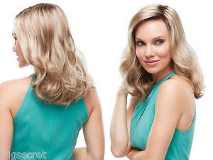 Katherine Medium Lace Front Open Cap Jon Renau Wavy Blonde Brunette Red Wigs