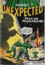 """DC (1959)THE UNEXPECTED#41 - Sept - """"Trap on Planetoid 10"""" -- 3.0 GD/VG"""