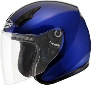 GMAX OF-17 Solid Helmet Blue X-Small G317493N 72-4813XS