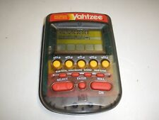 electronic Hand Held Yahtzee Milton Bradley MB Portable Game 1995 Dice Game