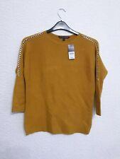 size 12 mustard coloured jumper from Bon Marche BNWT