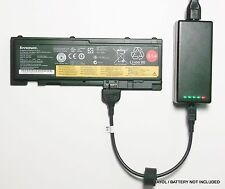 External Laptop Battery Charger for Lenovo ThinkPad T420s T430s, 0A36287 0A36309