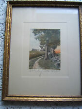 Kabel Hand Tinted Photograph  A Winding Path