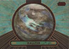 "Star Wars Galactic Files 2 - #690 Red Parallel Card ""Ralltiir"" #25/35"