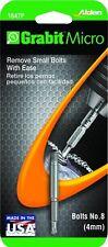 Alden 1647P Grabit Micro #2 Bit Damaged Bolt & Screw Extractor 1 Piece No. 8 4mm