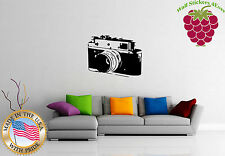 Wall Sticker Vinyl Decal  Old  Photo Camera Photography Picture  EM558