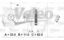 VALEO Alternador 55A Para FORD ESCORT 437378