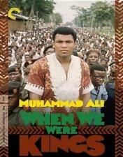 CRITERION COLLECTION: WHEN WE WERE KINGS (Region A BluRay,US Import,sealed.)