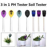3 in1 PH Tester Soil Moisture Light Tester Meter for Garden Plant Flower Growth