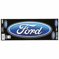 ORIGINALE Ford Logo PRUGNA US CAR EMBLEM ADESIVO DECAL STICKER 3 PEZZI NUOVO