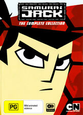 SAMURAI JACK: THE COMPLETE COLLECTION (2001) [NEW DVD]