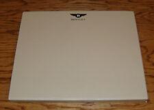 Original 2014 Bentley Mulsanne Hardcover Book Sales Brochure w Case 14