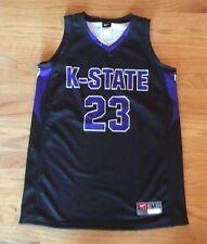 New Nike Kansas State Wildcats Basketball Jersey Women's Medium Black Purple