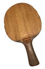 Hans Alser -Table Tennis Bat - Rare Vintage