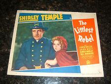 "THE LITTLEST REBEL Original 1935 Lobby Card, 11"" x 14"", C6.5 Fine Plus"