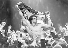 Rocky  Retro Balboa Stallone A4 260gsm Poster Print
