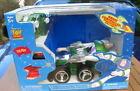Disney Toy Story Buzz Lightyear Radio Controlled Transforming Race Car NIB!