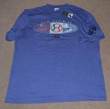 Nwt Vtg 1996 Us Open Tennis Fila Shirt Xl Deadstock Flushing Nyc