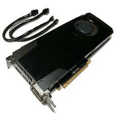 NVIDIA GeForce GTX 680 2GB Apple Mac Pro w/ Power Cables 4K, METAL, CUDA, Mojave