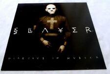 Slayer Diabolus in Musica 1998 poster promo flat 12x12 Not Cd Or Lp