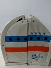 Barbie United Airlines Friend Ship Vintage Fold Out Play House Carrying Case 70s