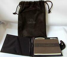 Rare Authentic Limited Edition Omega Watch Pen & Omega Notepad