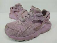 Nike Huarache Run Pink Corduroy Toddler Girls Shoes Size 11C