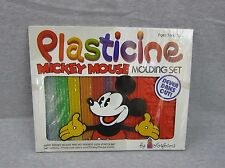 NEW Vintage Plasticine Mickey Mouse Molding Set Colorforms 1979 SEALED Disney