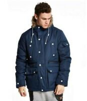 Supply & Demand Sebs Jacket Navy Size Large rrp £70 DH008 BB 02