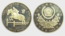 SEUL -AG/ 10000 WON 1988 XXIV OLYPIAD  PROOF !