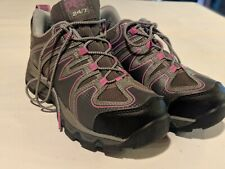 Womens Timberland Pro 24/7 Rockscape Low Steel Safety Toe Gray & Pink Size 6.5M